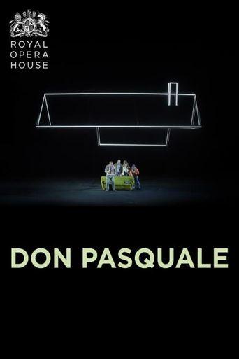 DON PASQUALE ROYAL OPERA HOUSE 2019/20 Poster