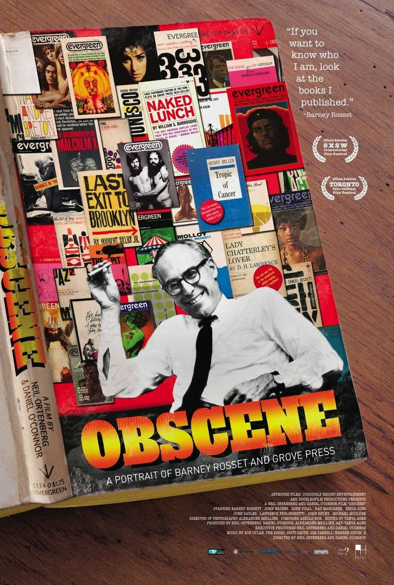 Obscene: A Portrait of Barney Rosset and Grove Press Poster