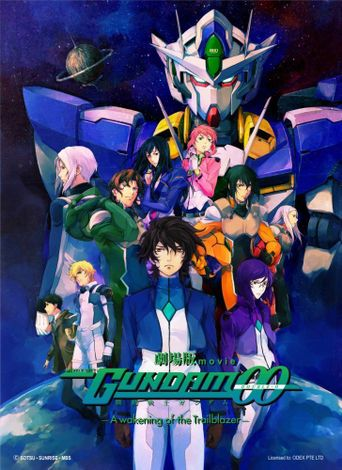 Mobile Suit Gundam 00 the Movie: Awakening of the Trailblazer Poster