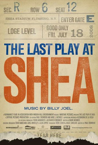 Watch The Last Play at Shea