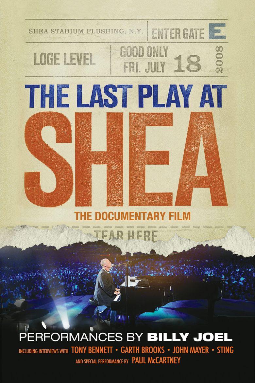 Billy Joel - The Last Play at Shea Poster