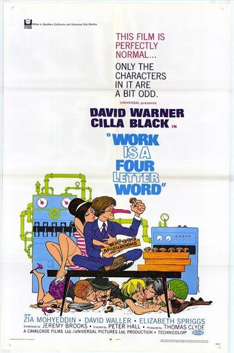 Work is a 4-Letter Word Poster