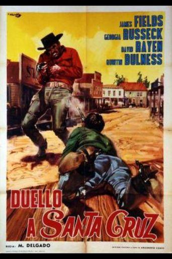 El revólver sangriento Poster