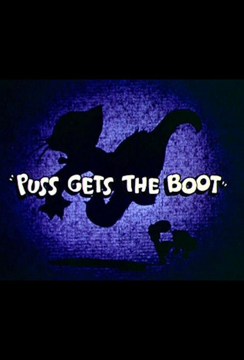 Puss Gets the Boot Poster