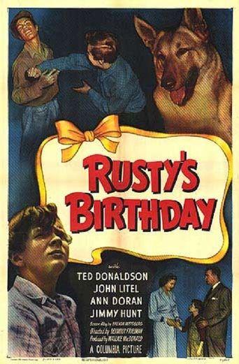Rusty's Birthday Poster