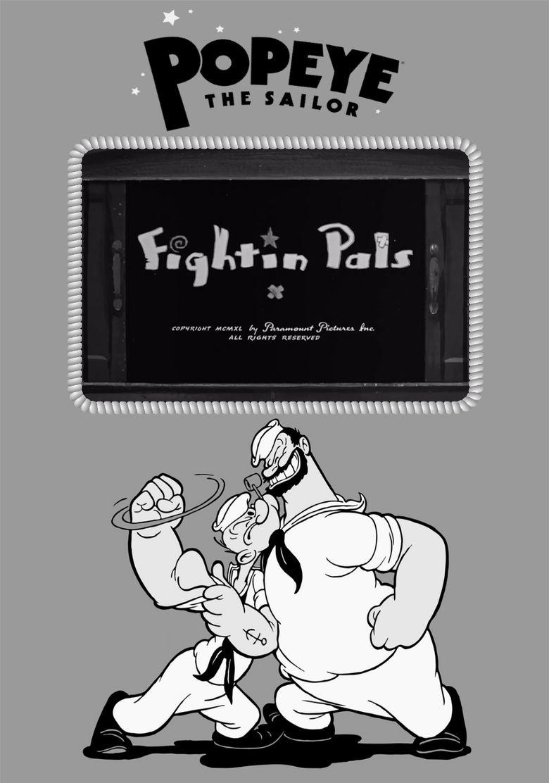 Fightin Pals Poster