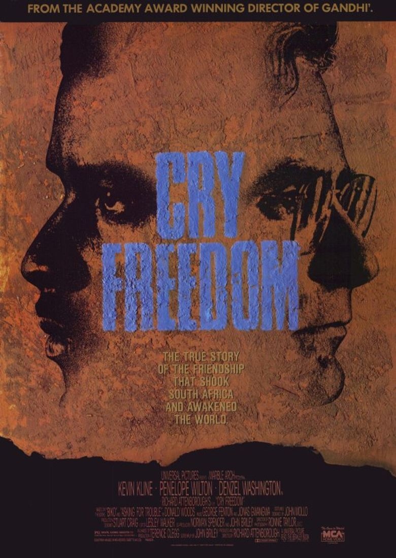 Cry Freedom Poster