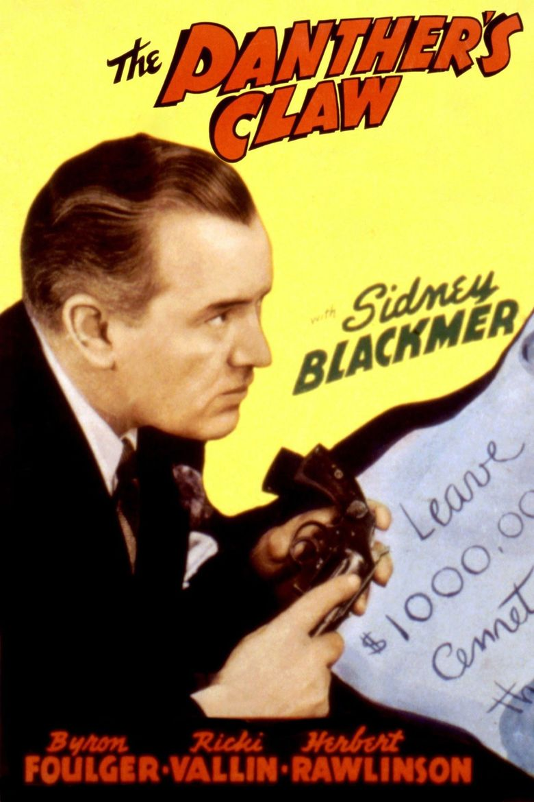 The Panther's Claw Poster