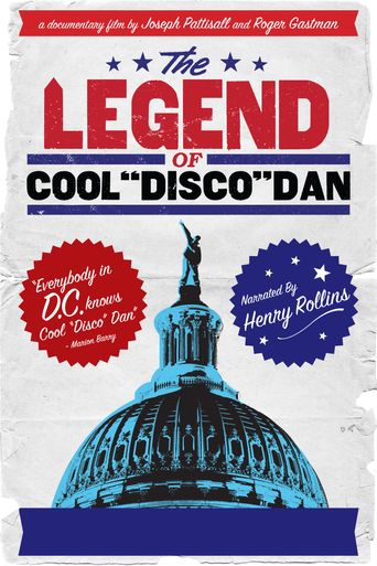 The Legend of Cool Disco Dan Poster