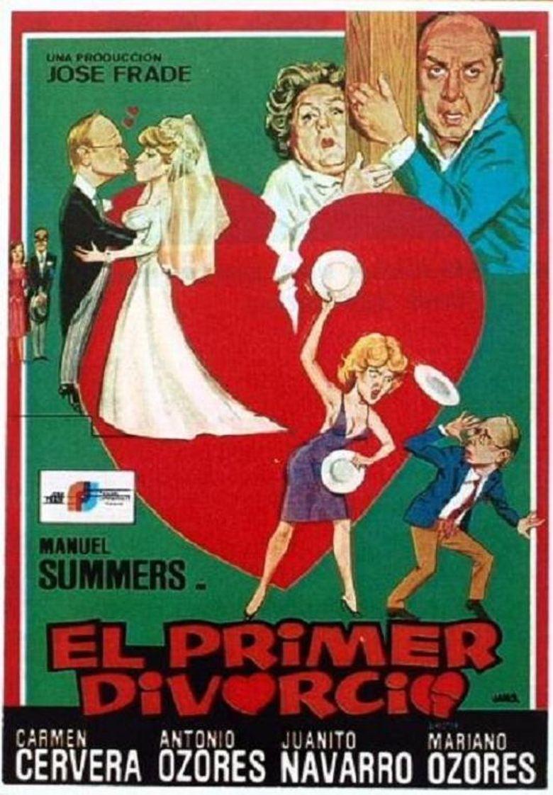 El primer divorcio Poster