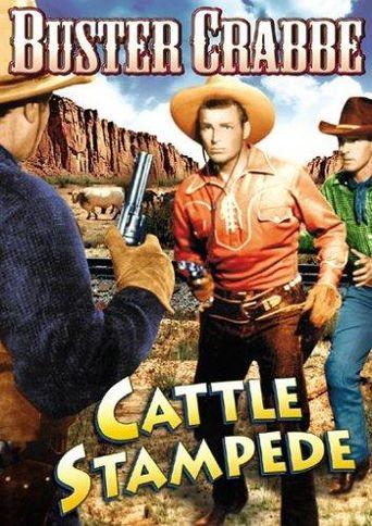 Cattle Stampede Poster