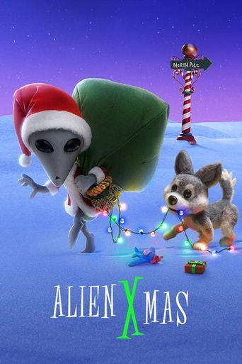 Alien Xmas Poster