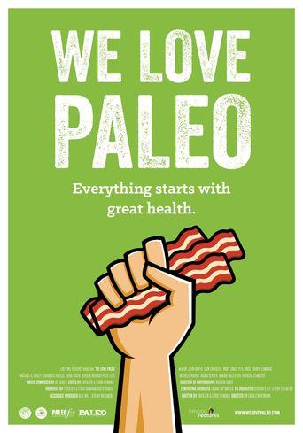 We Love Paleo Poster