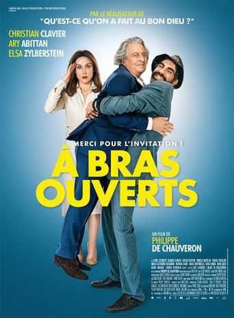 With Open Arms Poster