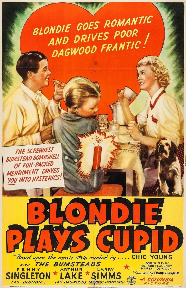 Blondie Plays Cupid Poster