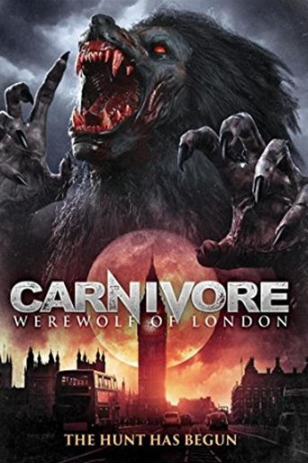 Carnivore: Werewolf of London Poster