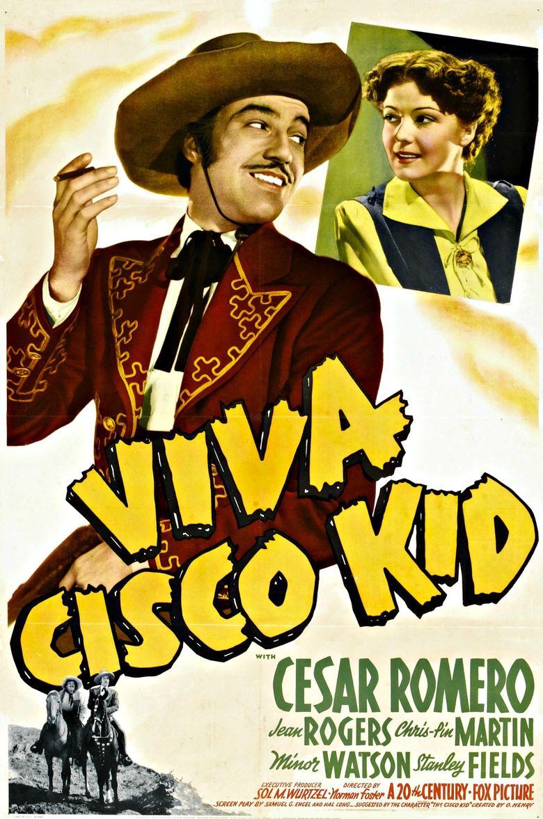 Viva Cisco Kid Poster