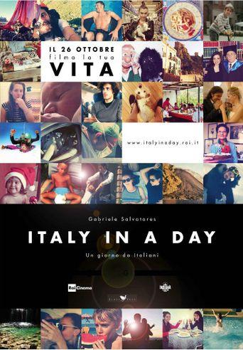 Italy in a Day - Un giorno da italiani Poster