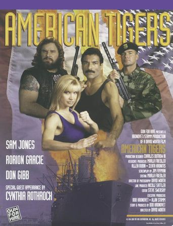 American Tigers Poster