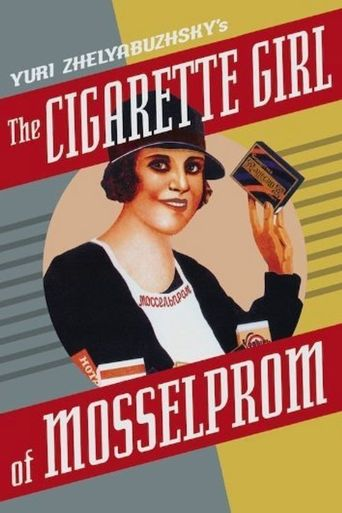 The Cigarette Girl of Mosselprom Poster