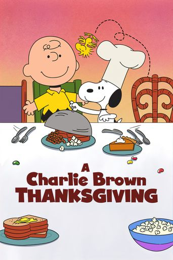A Charlie Brown Thanksgiving Poster