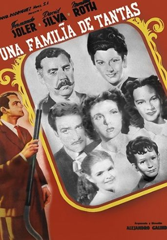 Una Familia De Tantas Poster