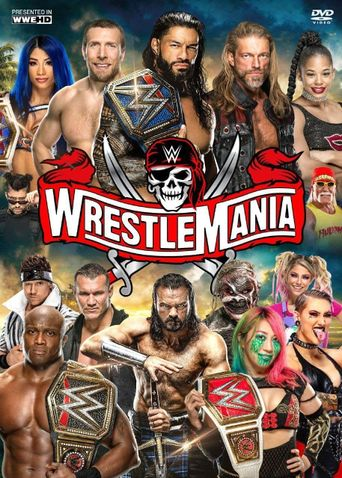 WWE WrestleMania 37 (Night 1) Poster