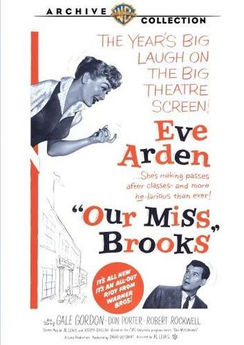 Our Miss Brooks Poster
