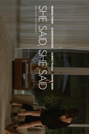 She Said, She Said Poster