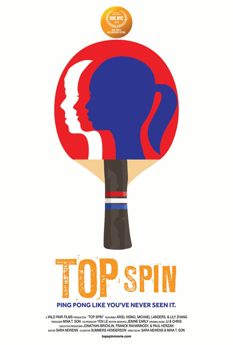 Top Spin Poster