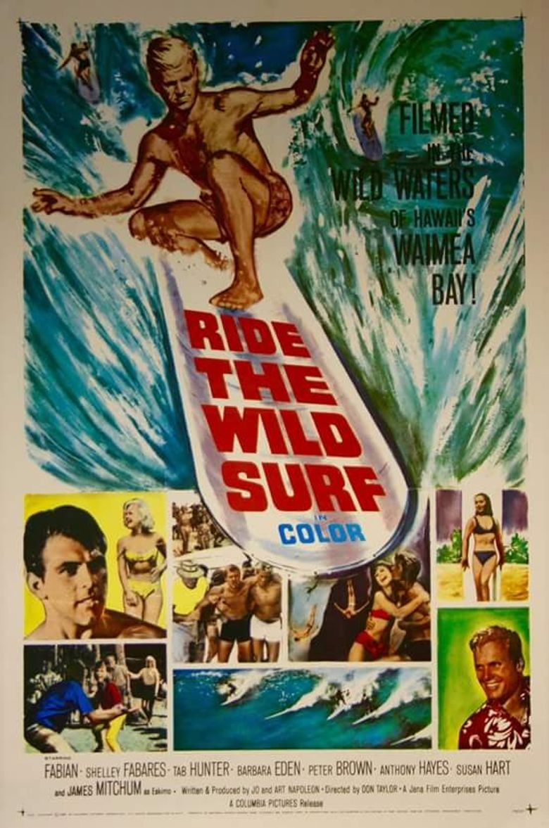 Ride the Wild Surf Poster