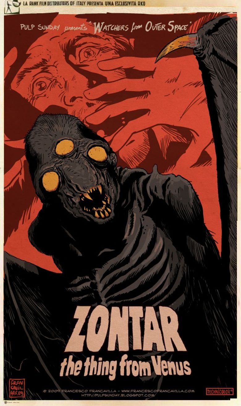 Zontar: The Thing from Venus Poster