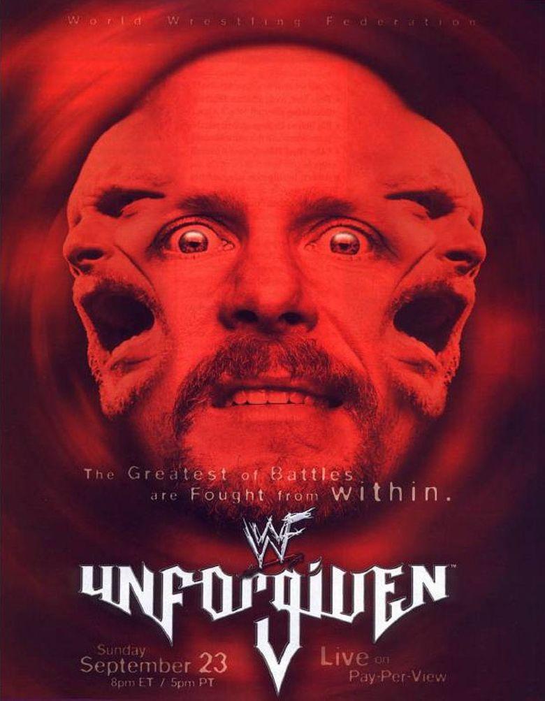 WWE Unforgiven 2001 Poster