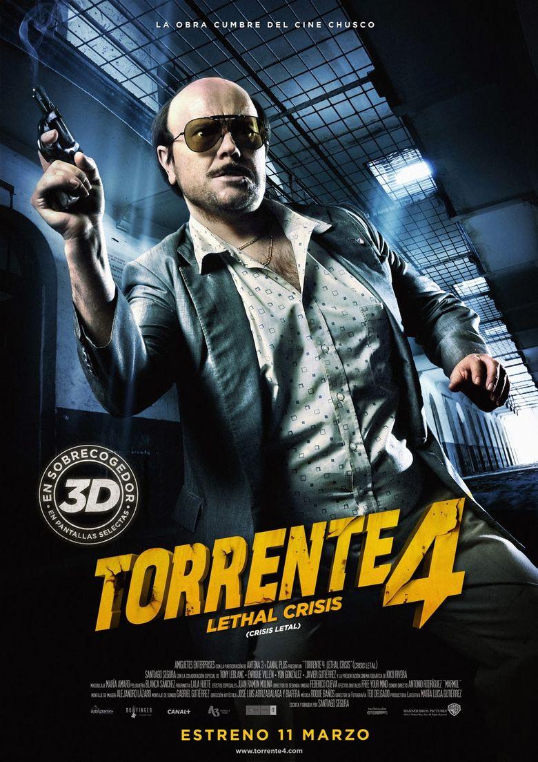 Torrente 4: Lethal crisis Poster