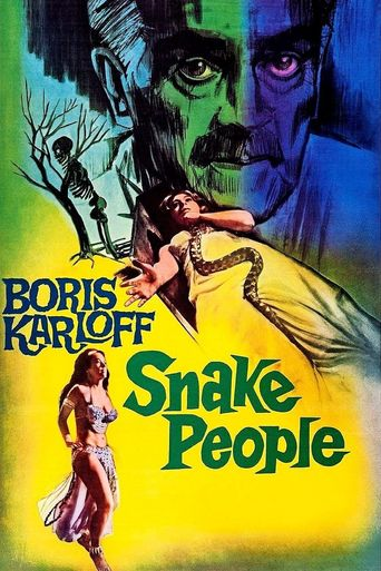 Isle of the Snake People Poster