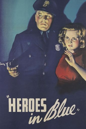 Heroes in Blue Poster