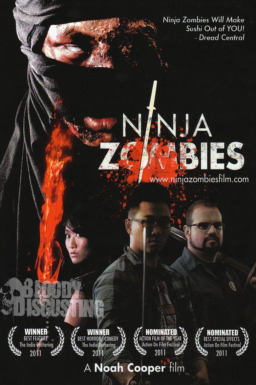 Ninja Zombies Poster