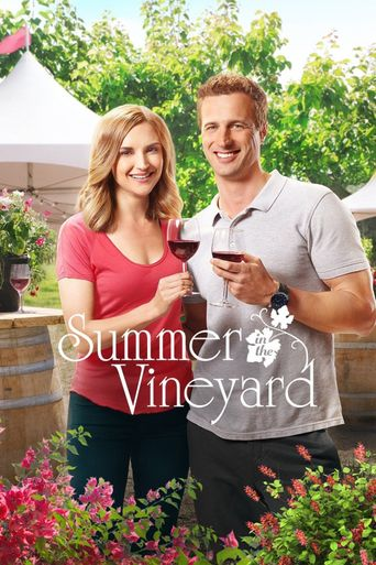 Summer in the Vineyard Poster