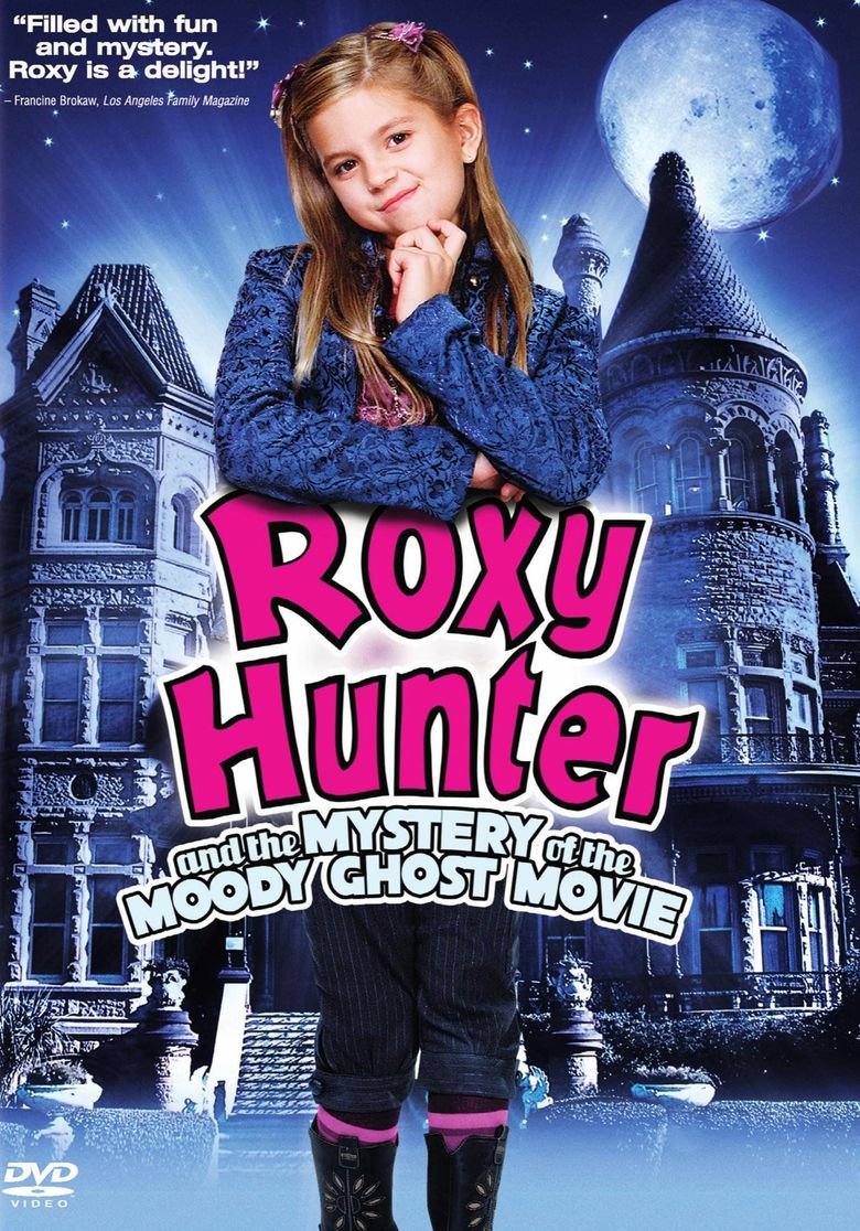 Roxy Hunter and the Mystery of the Moody Ghost Poster