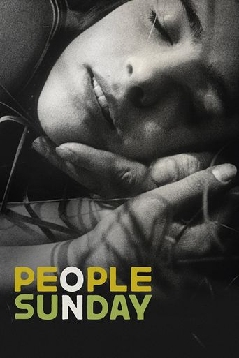 People on Sunday Poster
