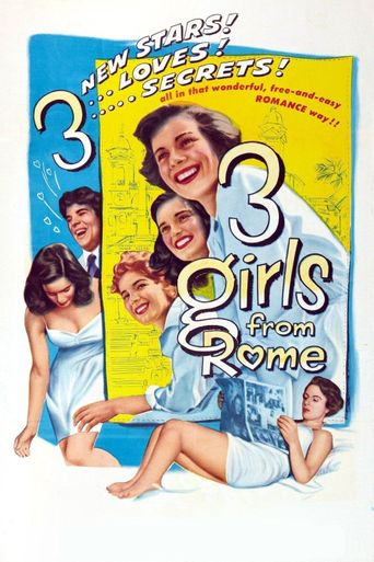 Three Girls from Rome Poster