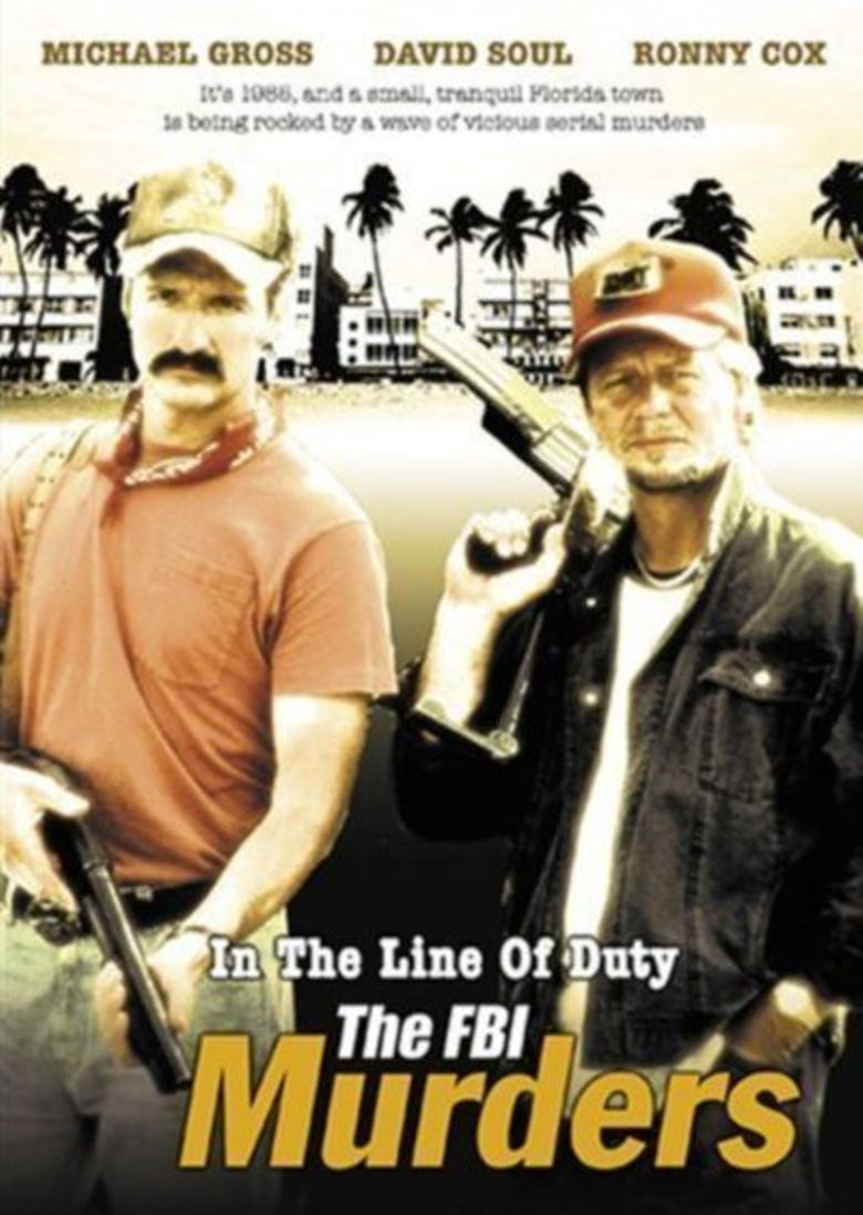 In the Line of Duty: The F.B.I. Murders Poster