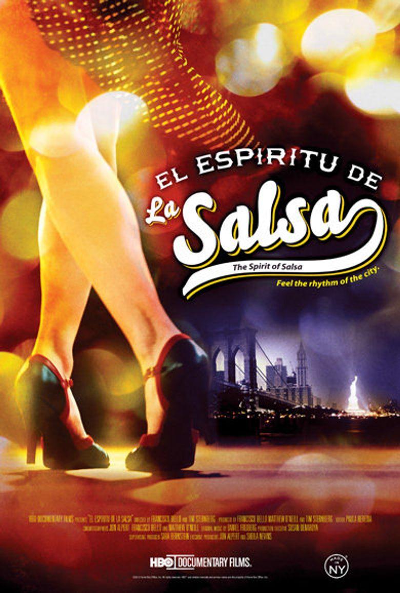 El espíritu de la salsa Poster