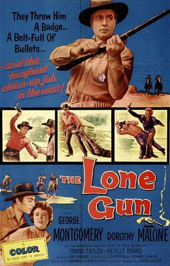 The Lone Gun Poster