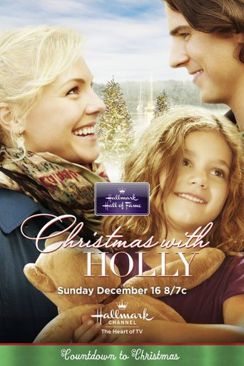 Christmas with Holly Poster