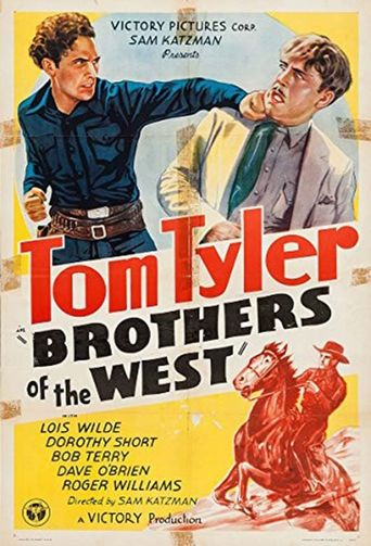 Brothers of the West Poster