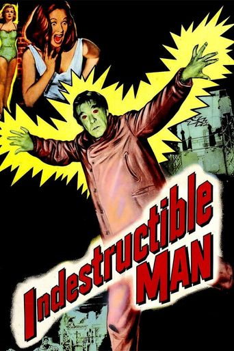 Indestructible Man Poster
