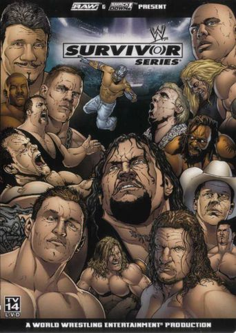 WWE Survivor Series 2004 Poster