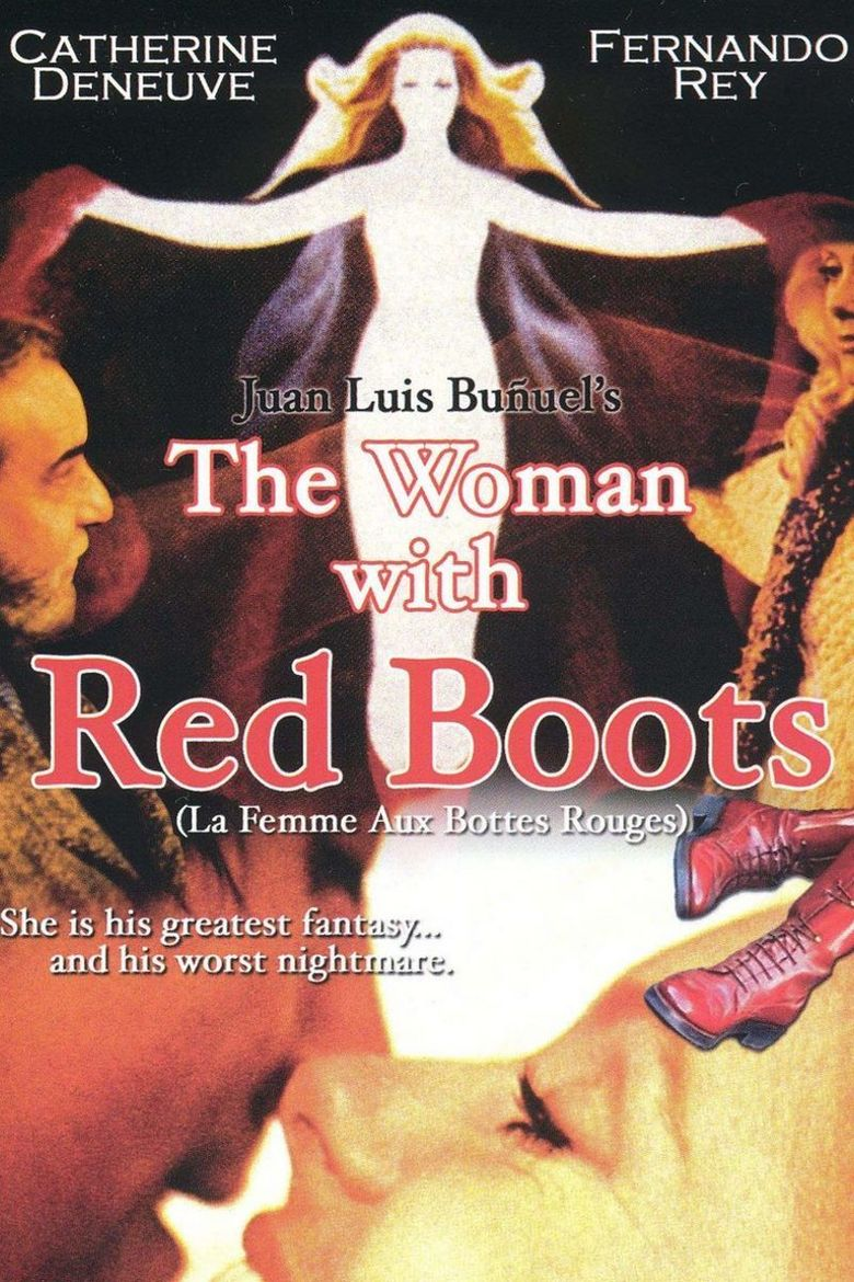 The Woman with Red Boots Poster