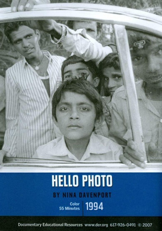 Hello Photo Poster